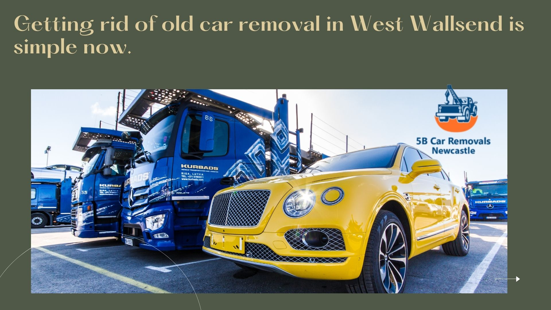 old car removal in West Wallsend