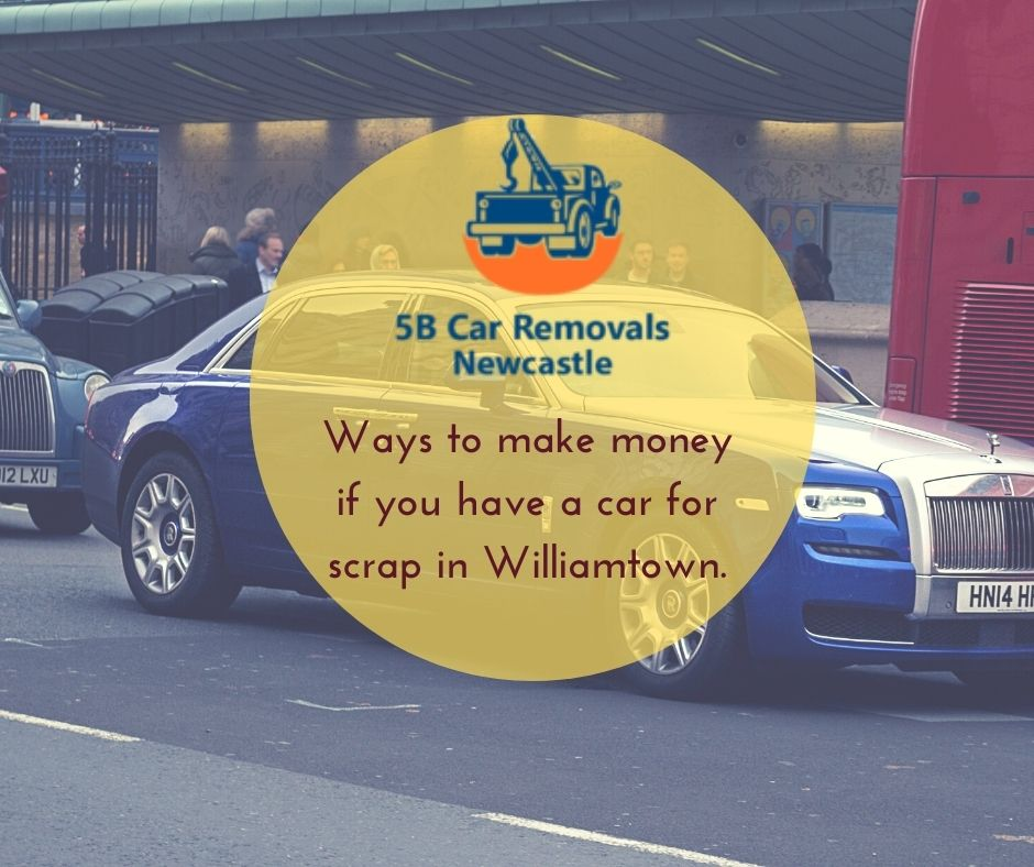 best car removal in Williamtown.